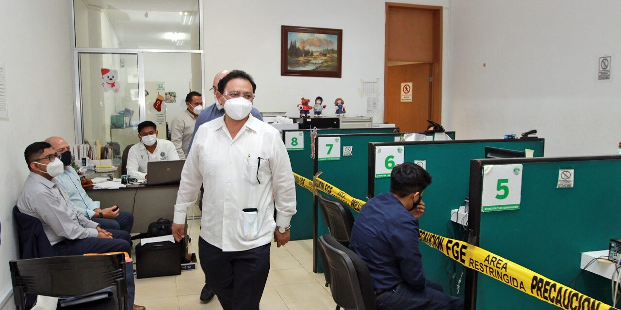 Atención de calidad a ciudadanos, prioridad, dice fiscal de Yucatán