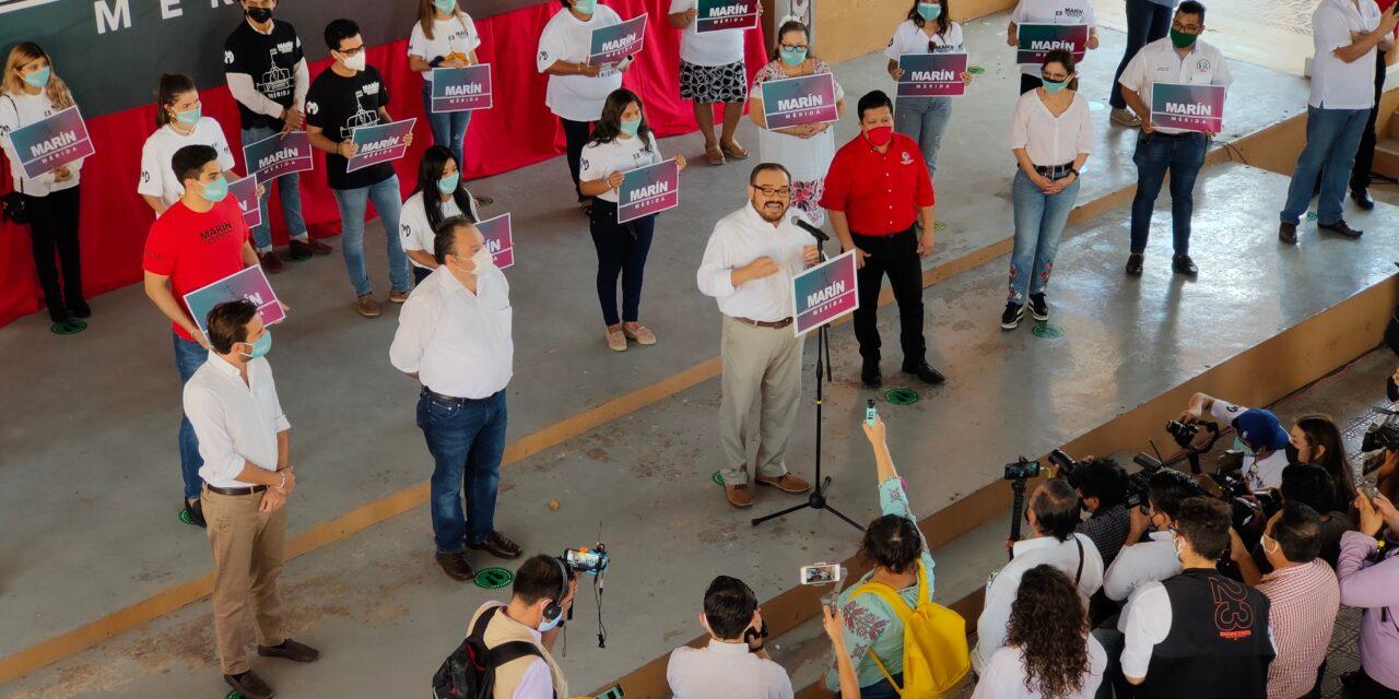 'Mérida no es de nadie, debe ser de todos': Ramírez Marín, en inscripción