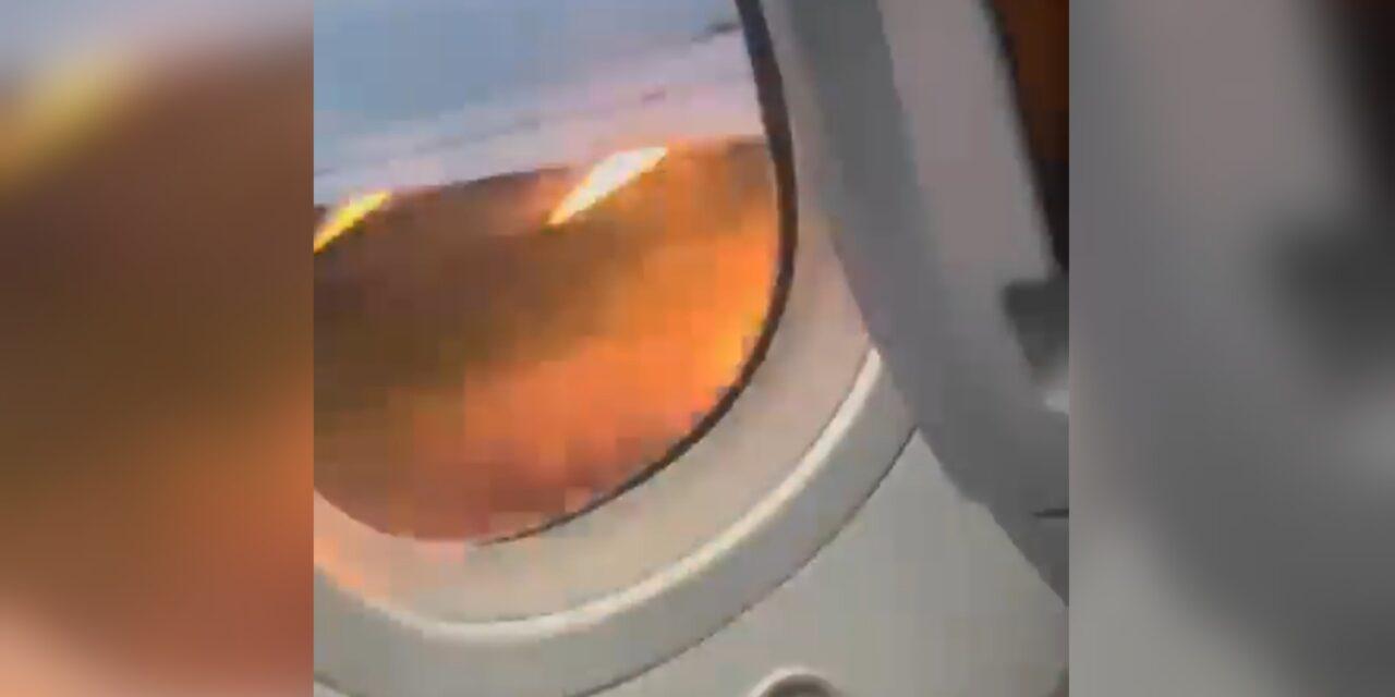 Falla motor de avión y aborta despegue en aeropuerto internacional de Cancún