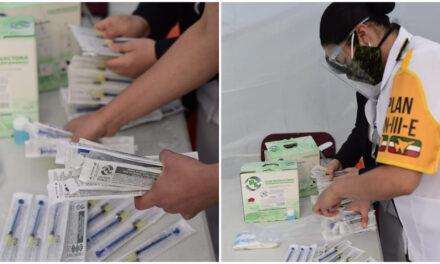 Adelantan vacunación para adultos mayores, a principios de febrero