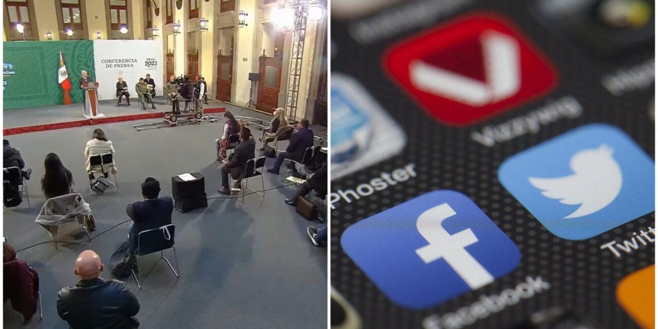 Inconforma a AMLO Facebook y Twitter; México buscará 'alternativas'
