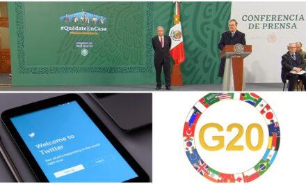México planea bloque contra 'censura' de Facebook y Twitter