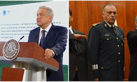 Abre México expediente Cienfuegos y liga detención con elecciones en EU