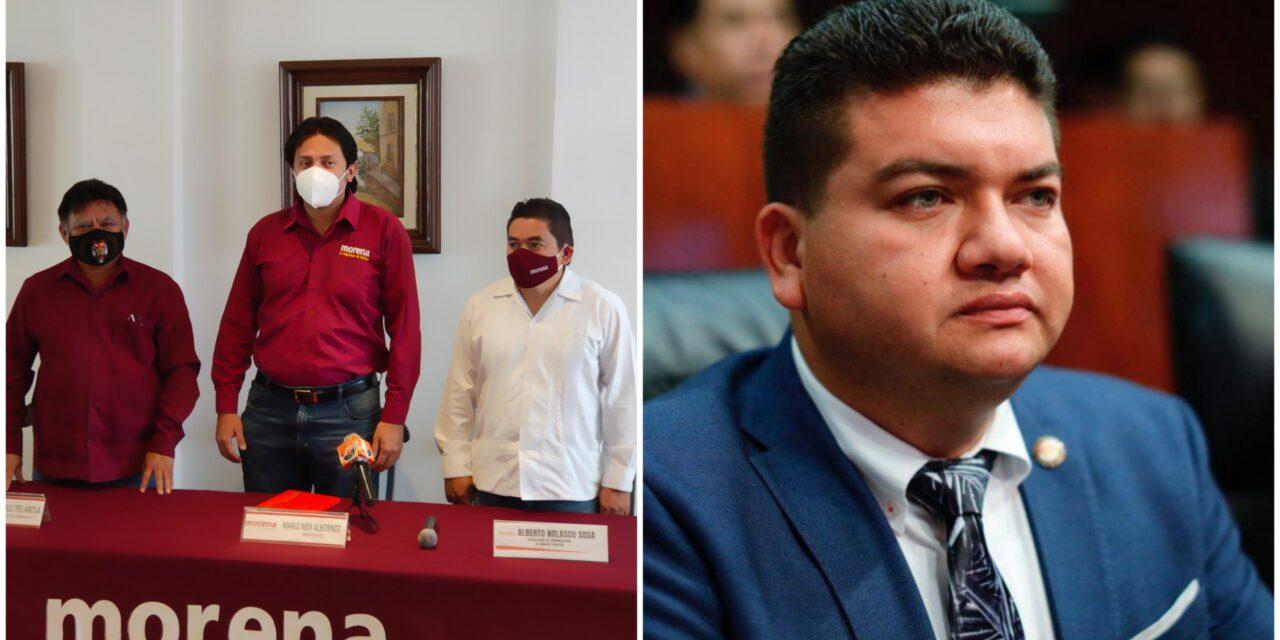Operador tabasqueño mediará entre aspirantes de Morena a alcaldía de Mérida