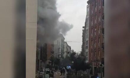 Al menos dos muertos tras fuerte explosión en edificio del centro de Madrid
