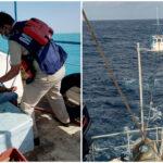 Pescadores estuvieron ocho días a la deriva en alta mar; rescatados