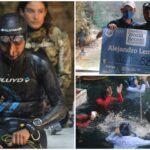 Apeneísta Alejandro Lemus Nava rompió récord mundial en cenote Ucil