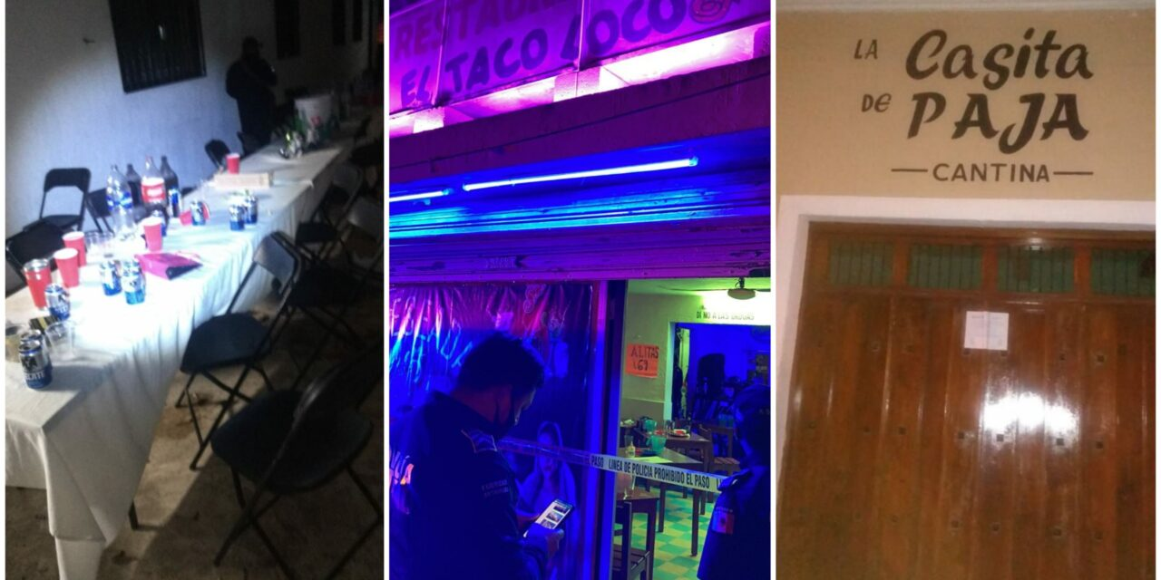 Cancelan fiesta en Kanasín y clausuran restaurantes y bares en Mérida