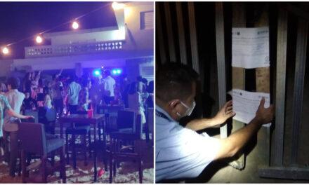 Multa de hasta 180 mil pesos por fiesta de jóvenes en Chicxulub Puerto