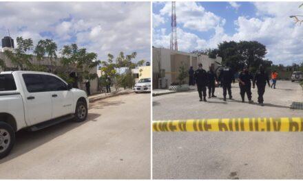 Masacran a hombre en fraccionamiento Dzoyolá, municipio de Kanasín