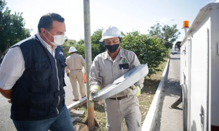 Mérida iluminada: en licitación otras mil 500 lámparas LED