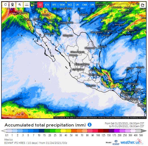 Norte 'reforzado' a media semana: vuelve 'heladez' a Yucatán: mínimas de 10°