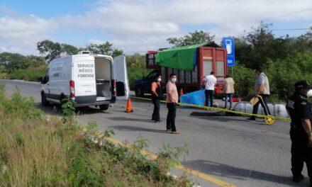 Motociclista muere en 'encontronazo' en la Mérida-Acanceh