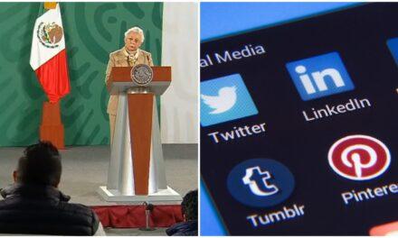 La 4-T analiza la viabilidad de regulación a redes sociales en México