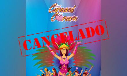 Cancelado formato digital de carnaval Mérida 2021