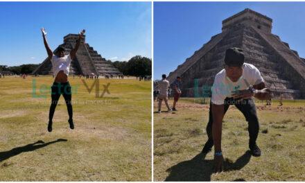 Joshua Tyler Kelley, de la NFL, y su contacto con la cultura maya