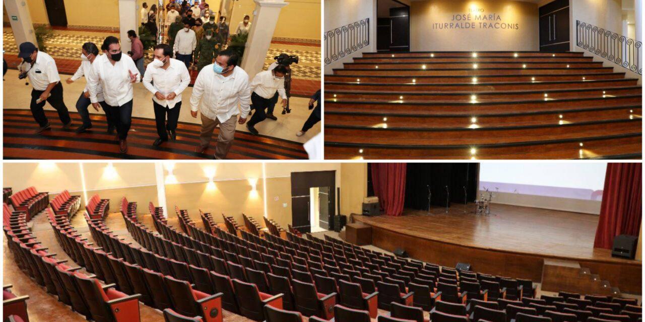 """Reestrena Valladolid Teatro """"José María Iturralde Traconis"""""""