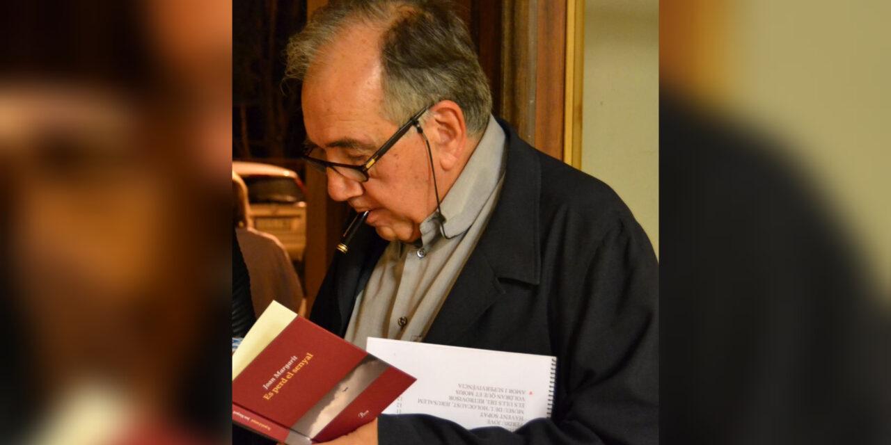 Fallece a los 82 años el multipremiado poeta catalán Joan Margarit