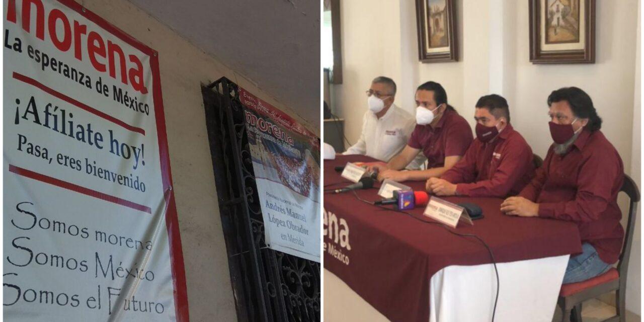 Dirigencia nacional de Morena, con 'nombramiento espurio' en Yucatán