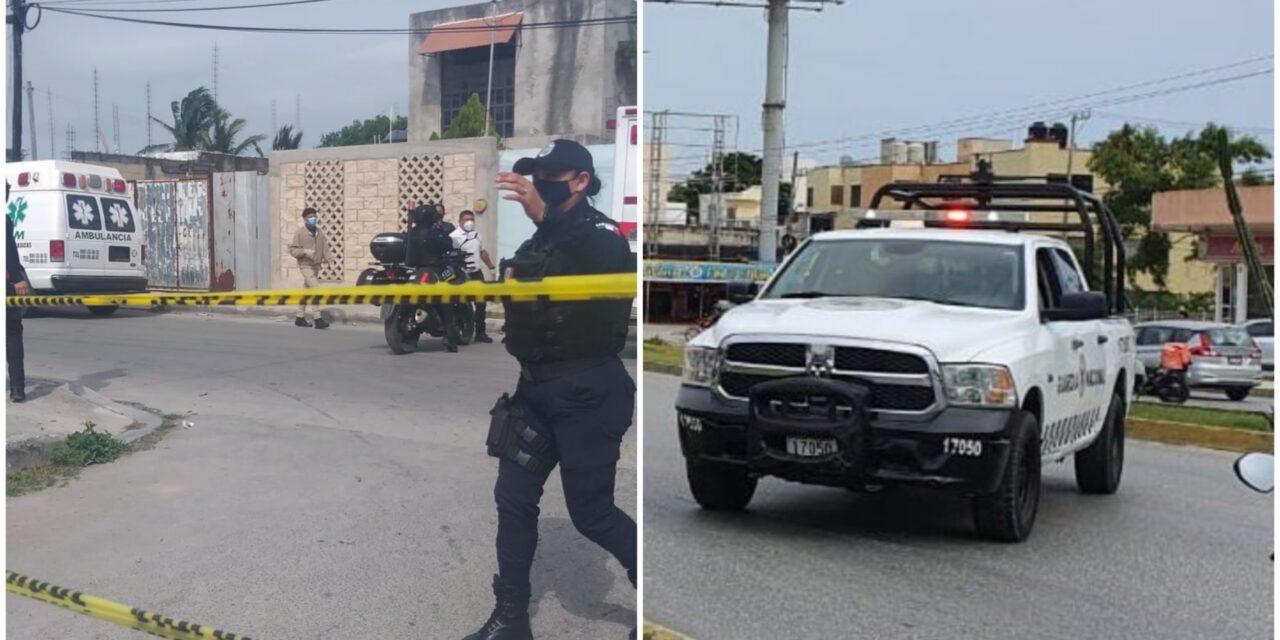 Liberan a tiros a secuestrado en Cancún; al menos dos lesionados (Vídeo)