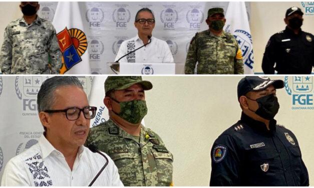 Capturados 15 presuntos delincuentes en Cancún; dos muertos