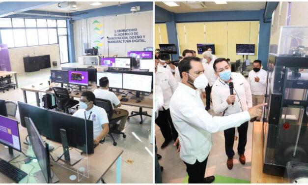 Con Laboratorio Académico de Innovación, Diseño y Manufactura Digital la UPY