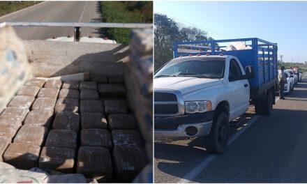 Segundo aseguramiento de droga en carreteras de Yucatán; ahora 380 kilos