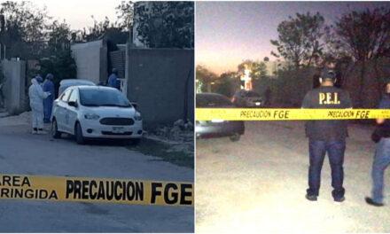 Catean domicilio en Dzityá y aparece camioneta de ejecución en Las Américas