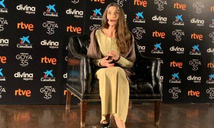 Afirma Ángela Molina, Premio Goya de Honor 2021, que el cine no morirá nunca