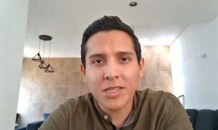 Adrián Gorocica Rojas, ahora aspirante a regidor por Mérida