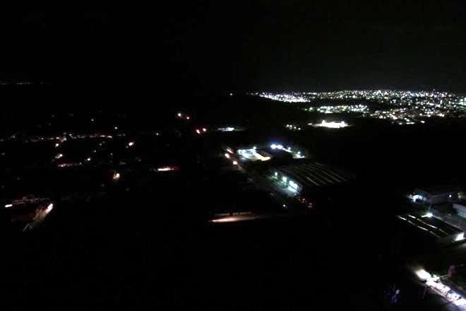 Apagones eléctricos alcanzaron a estados de la Península de Yucatán