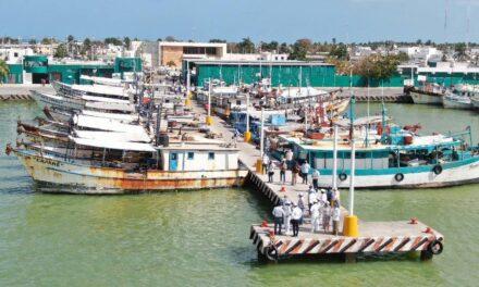 Puerto de Abrigo de Yucalpetén: más amplio y seguro; entrega de obras