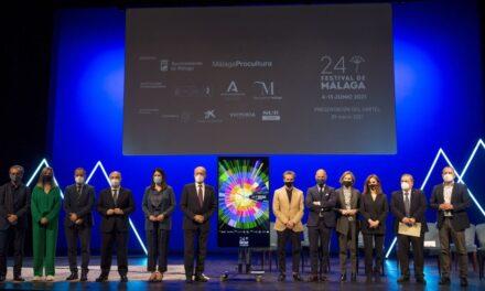 Presenta Festival de Málaga cartel de su 24ª edición diseñado por venezolano