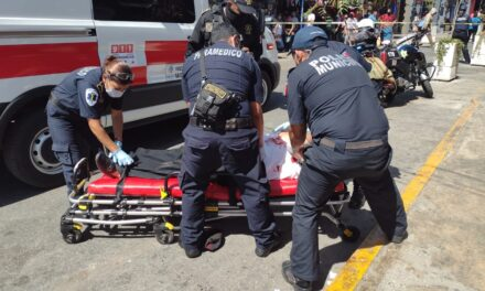 Sexagenario intentó suicidarse con cuchillo en centro de Mérida
