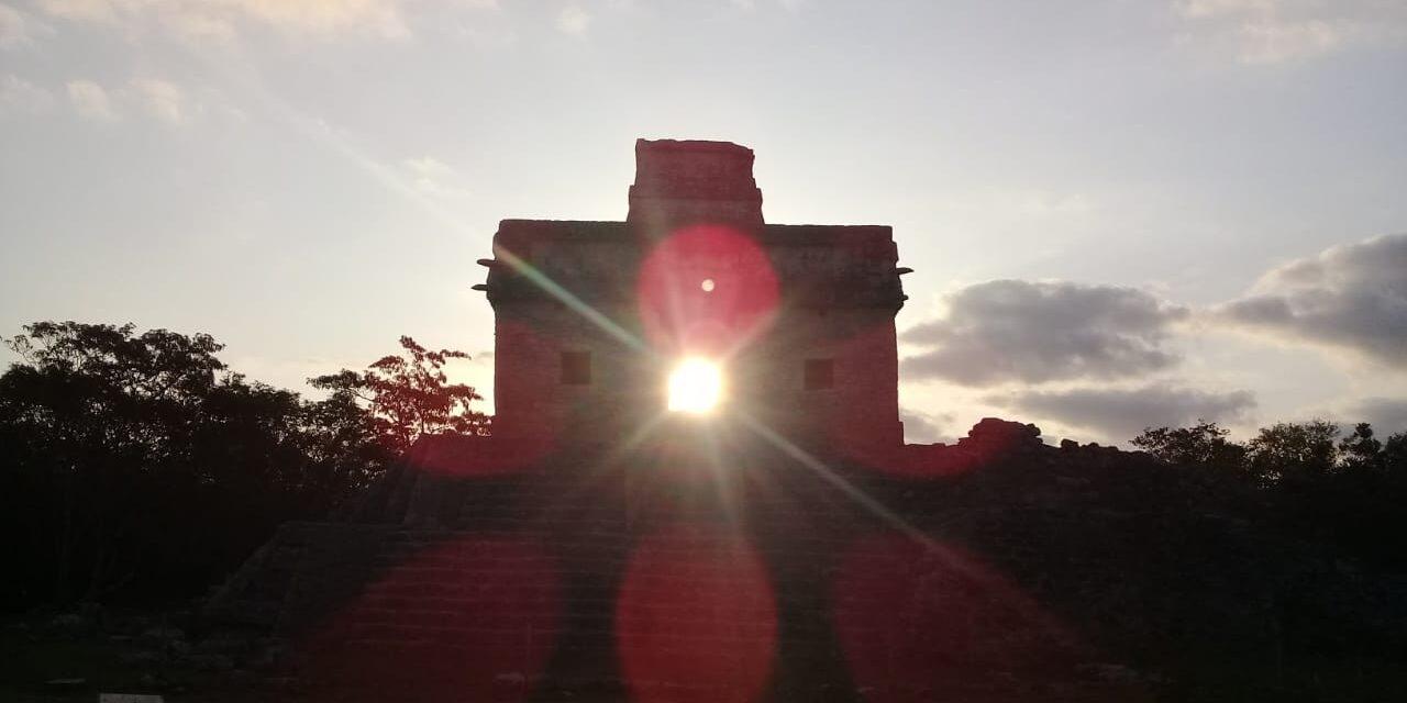 Llega primavera a Yucatán y llena de luz zona maya de Dzibilchaltún
