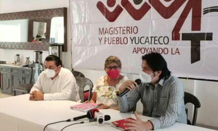 Abren puertas de Morena a líderes de SNTE en Yucatán; en campaña