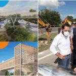 En construcción cinco nuevos puentes peatonales en periférico de Mérida