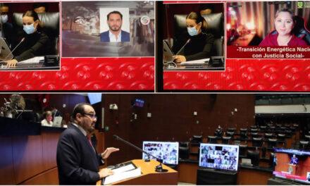 Con 'madruguete', Morena avala cambios a Ley Eléctrica; senadores yucatecos