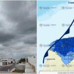 Lluvias y moderado descenso de temperatura para este sábado
