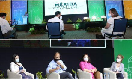 Foro Mérida Pedalea, reflexión sobre ciclovías y ciudades sustentables
