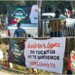 Del Tren Maya, manifestaciones y vacunación antiCovid en gira de AMLO