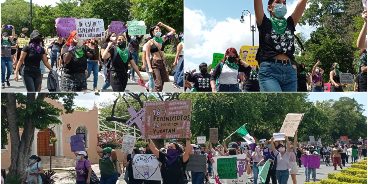 Poder feminista en Yucatán: erradicar todo tipo de violencia contra la mujer