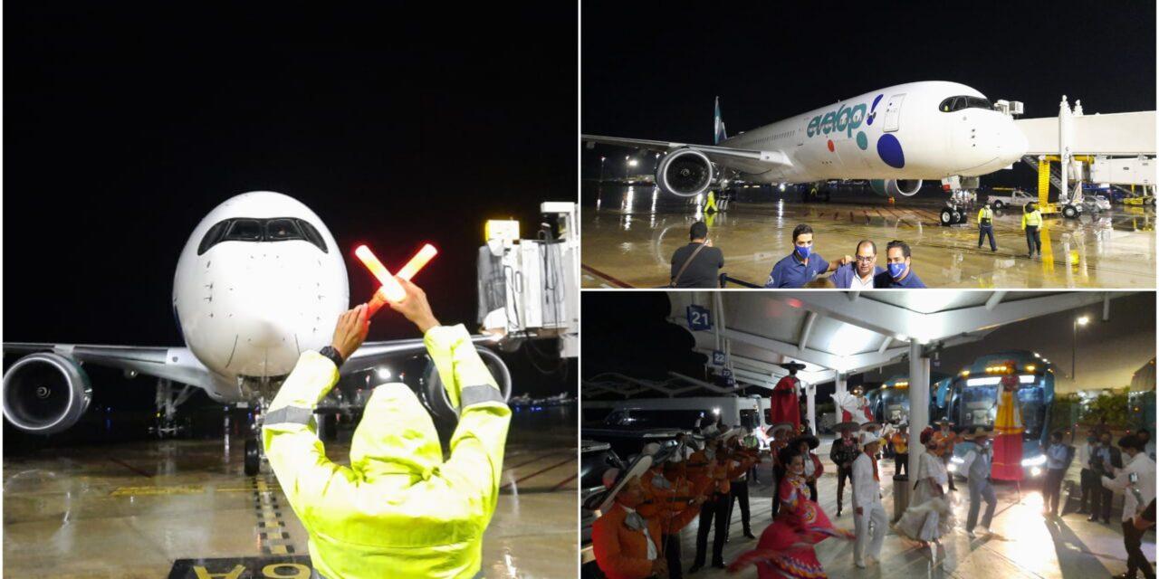 Regresa turismo español en vuelos directos de Madrid a Cancún