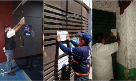 Casino y dos negocios de comida en Mérida, clausurados