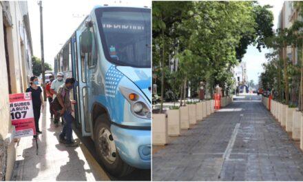 Ajustarán Plan de Movilidad Urbana de Mérida, incluidos los paraderos