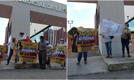 Repudio a pensiones y jubilaciones del ISSSTE en UMA; protestas