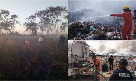 Primeros incendios en 17 municipios de Yucatán este año