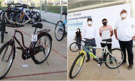 Entregadas primeras cinco bicicletas de 'Impulso a Movilidad Sostenible'