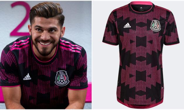 Rosa mexicano, en nueva camiseta de la Selección Nacional