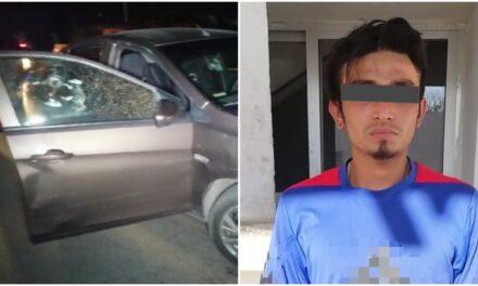 Joven de 24 años, presunto atacante de familia en la Ávila Camacho